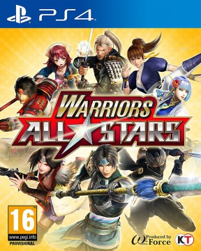 Warriors All-Stars PS4 Cover