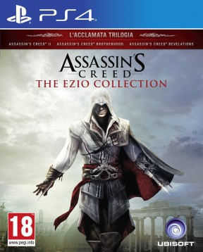 Assassin's Creed Ezio Collection PS4 Cover