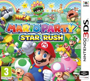 Mario Party: Star Rush 3DS Cover