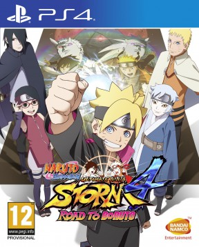 Naruto Shippuden Ultimate Ninja Storm 4 Road to Boruto PS4 Cover