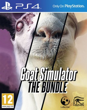 Goat Simulator: The Bundle PS4 Cover
