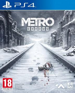 Metro Exodus PS4 Cover