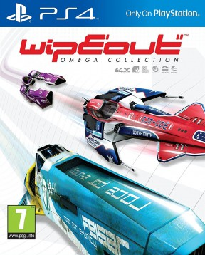 WipEout: Omega Collection PS4 Cover