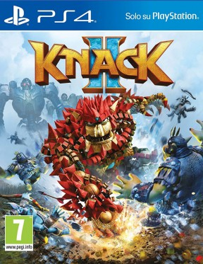 Knack 2 PS4 Cover