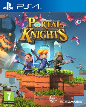 Portal Knights PS4 Cover