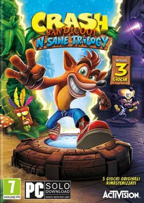 Crash Bandicoot N-Sane Trilogy PC Cover