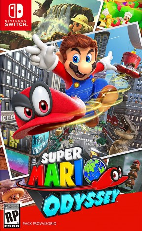 Super Mario Odyssey Switch Cover