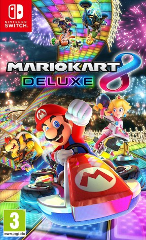 Mario Kart 8 Deluxe Switch Cover