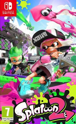 Splatoon 2 Switch Cover