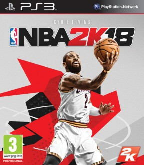 NBA 2K18 PS3 Cover