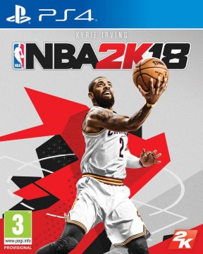 NBA 2K18 PS4 Cover