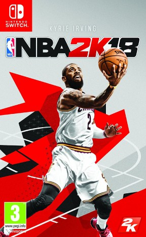 NBA 2K18 Switch Cover