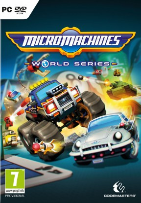Micro Machines World Series PC Cover