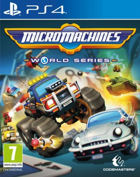 Micro Machines World Series PS4 Cover