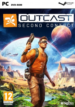 Outcast - Second Contact PC Cover