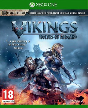Vikings: Wolves of Midgard Xbox One Cover