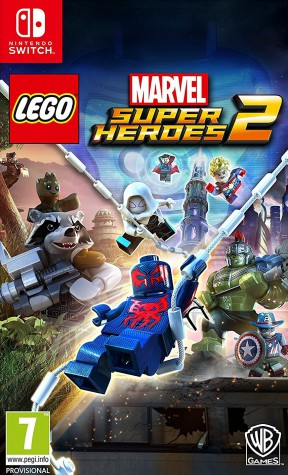 LEGO Marvel Super Heroes 2 Switch Cover