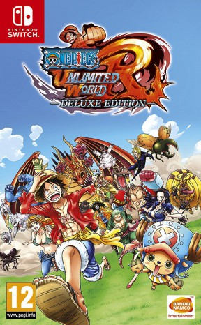 One Piece: Unlimited World Red - Deluxe Edition Switch Cover