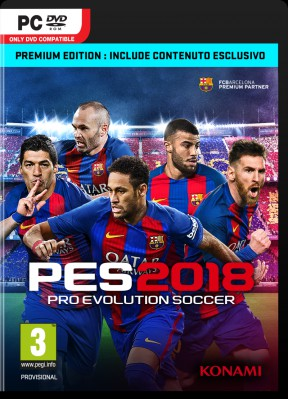PES 2018 PC Cover