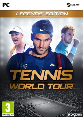Tennis World Tour PC Cover