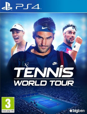 Tennis World Tour PS4 Cover