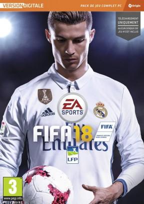 FIFA 18 PC Cover