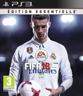 FIFA 18 PS3 Cover