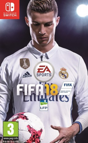 FIFA 18 Switch Cover