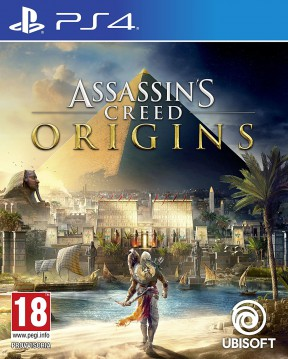 Assassin's Creed Origins PS4 Cover
