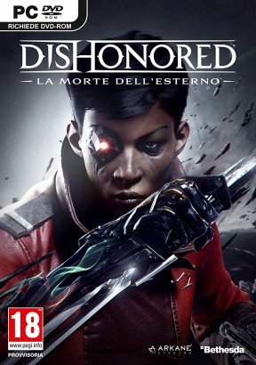 Dishonored: La Morte dell'Esterno PC Cover