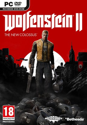 Wolfenstein II: The New Colossus PC Cover