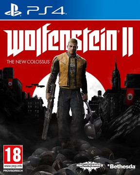 Wolfenstein II: The New Colossus PS4 Cover