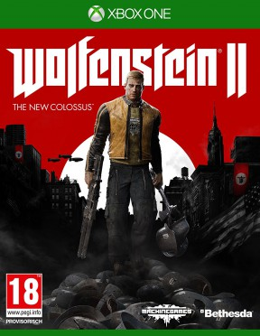Wolfenstein II: The New Colossus Xbox One Cover