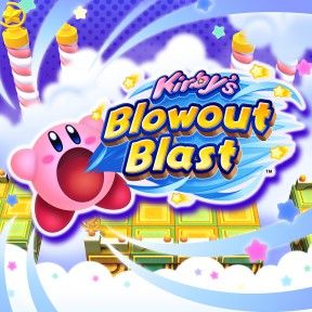 Kirby's Blowout Blast 3DS Cover