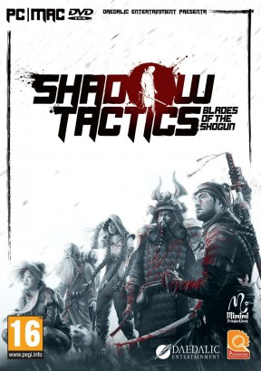 Shadow Tactics: Blades of the Shogun PC Cover