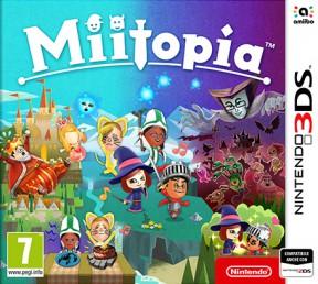 Miitopia 3DS Cover