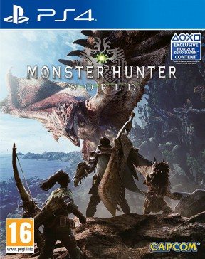 Monster Hunter World PS4 Cover