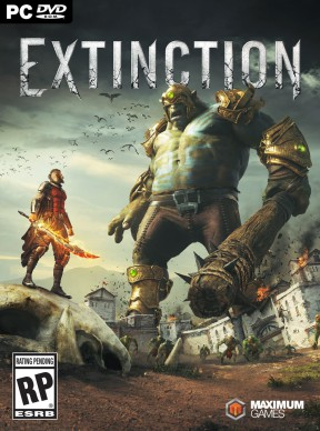 Extinction PC Cover
