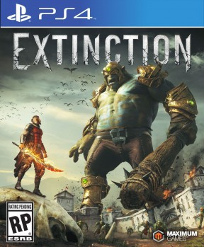 Extinction PS4 Cover