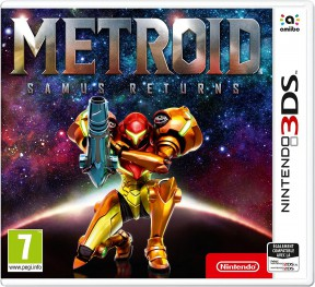 Metroid: Samus Returns 3DS Cover