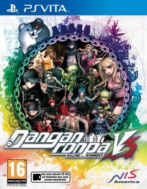 Danganronpa V3: Killing Harmony PS Vita Cover