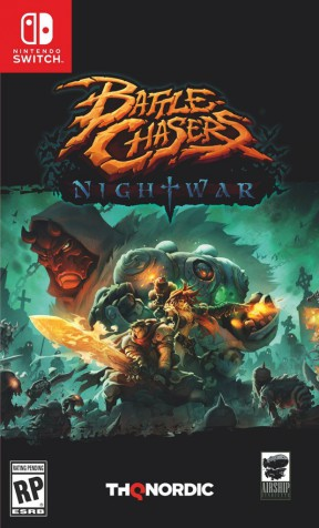 Battle Chasers: Nightwar Switch Cover