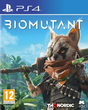 Biomutant PS4 Cover