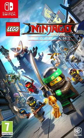 LEGO Ninjago il Film: Video Game Switch Cover