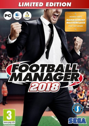 Football Manager 2018 PC Cover