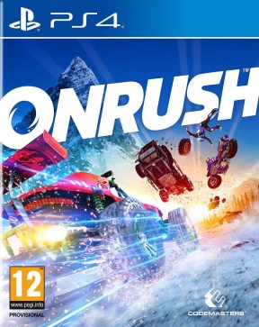 Onrush PS4 Cover