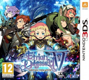 Etrian Odyssey V: Beyond the Myth 3DS Cover