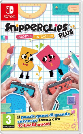 Snipperclips Plus: Diamoci un Taglio! Switch Cover