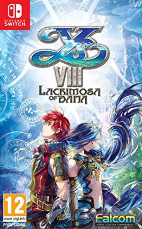 Ys VIII: Lacrimosa of Dana Switch Cover