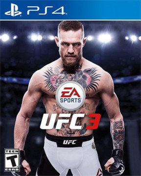 EA Sports UFC 3 PS4 Cover